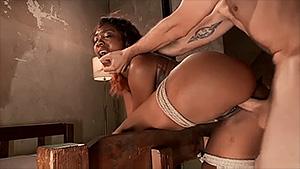 Girl licking guy asshole