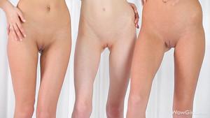 Trois petites poupées font un show très sexy