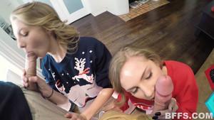 Surprise coquine de Noël avant l'heure